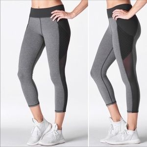 MICHI Stardust Crop Leggings With Mesh Pocket XS